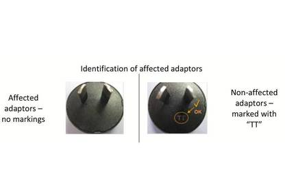 00024184   plug adaptor for phonak wireless accessories recall notice 2
