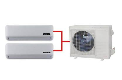 Multi-split system heat pump
