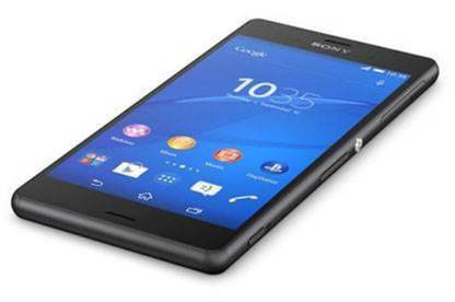 The Sony Xperia Z3.