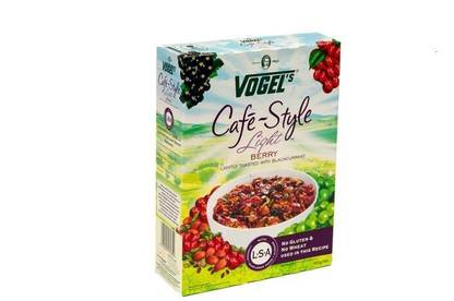 Vogel's Café-Style Light Berry with Blackcurrant contains just 1 percent blackcurrant juice concentrate.