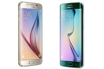 The Samsung S6 and S6 edge.