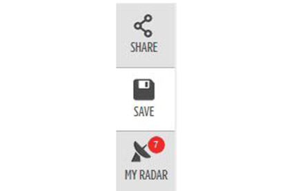 Keep an eye out for these icons. Like what you're reading? Click or tap 'MY RADAR' to let us know you want to see more like this.