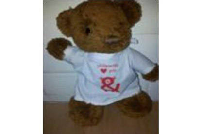 One of the recalled Phil & Teds teddy bears.