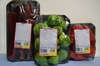 We spotted this packaged produce in a Wellington New World supermarket.