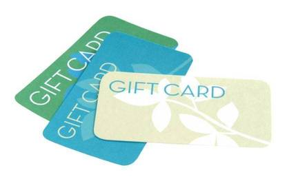 Overseas research suggests between 10 and 27 percent of gift cards are never redeemed.