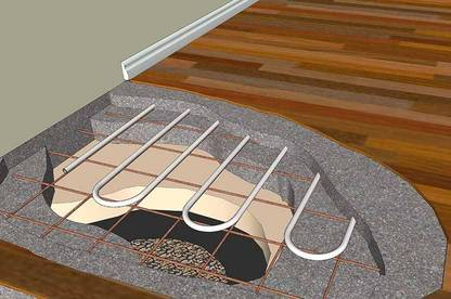 Underfloor heating. (Image: Central Heating New Zealand Ltd.)