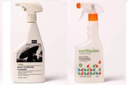 Ecostore Multi-Purpose Cleaner, Earthwise Multi-Surface Cleaner.
