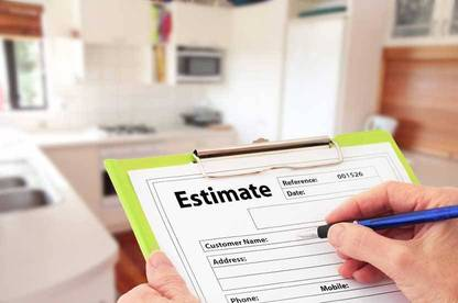 An estimate is the closest price or range of prices that can be given, based on past experience.