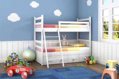 If you're buying a bunk bed, consider the safety issues.