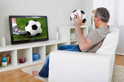 14feb televisions watching tv
