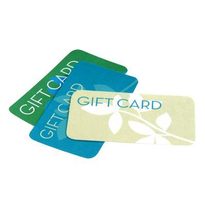 gift card for machine